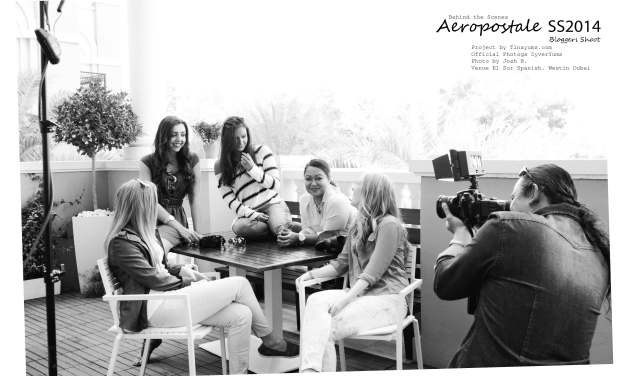 Aeropostale Behind The Scenes SS2014 Bloggers Shoot (1)